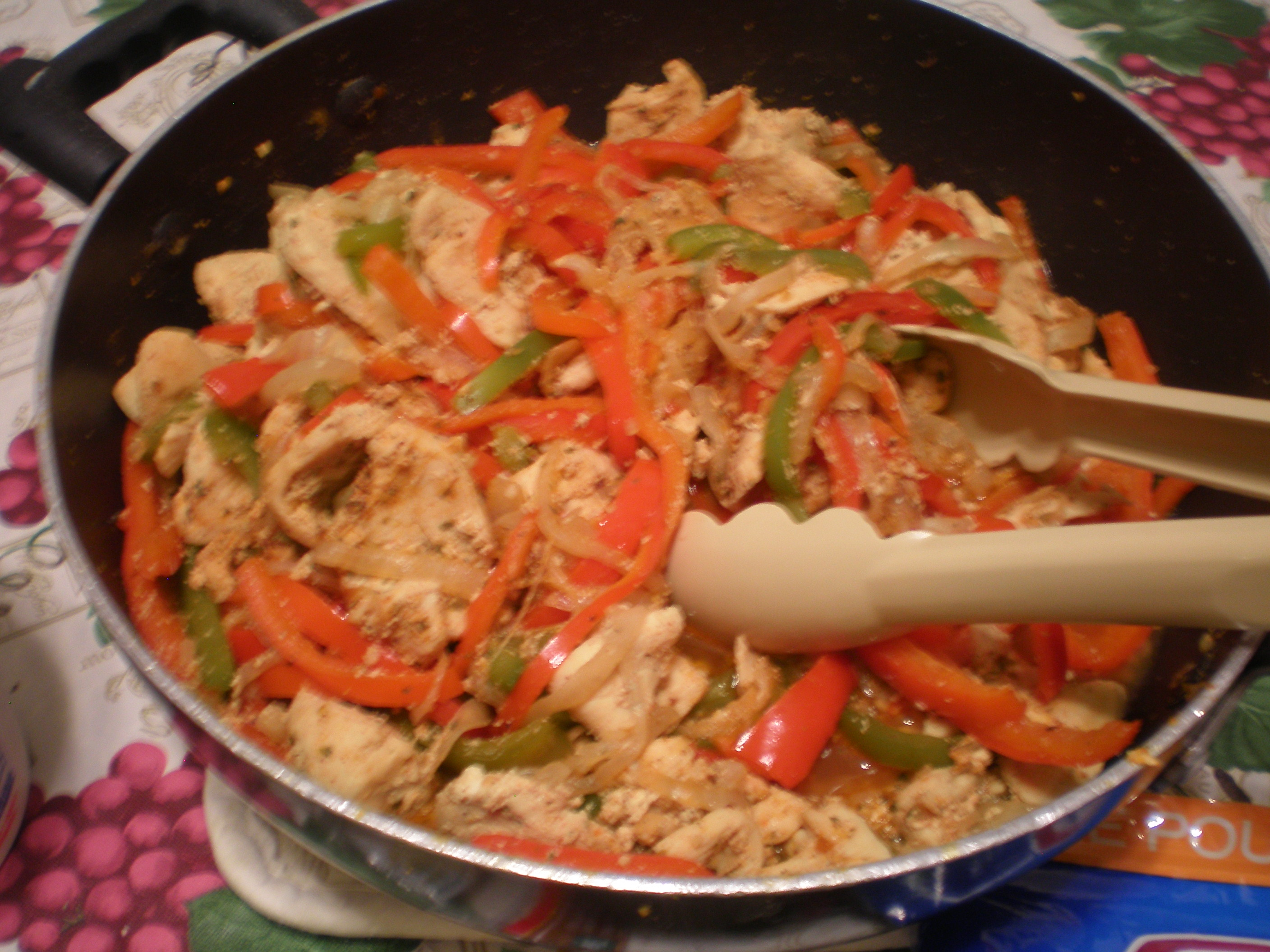 Chicken Fajitas | ♪ ♫ ♪ A Symphony In The Kitchen ♪ ♫ ♪