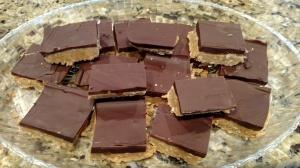 Chocolate Peanut Butter Pretzel Squares